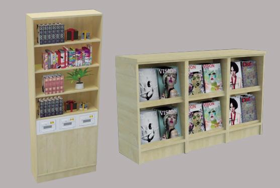 俱乐部书柜(CU2013-QT04)